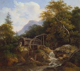 Johann Georg von Dillis: Alte Wetzsteinmühle bei Ohlstadt