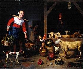 Hubert van Ravesteyn: Im Schafstall