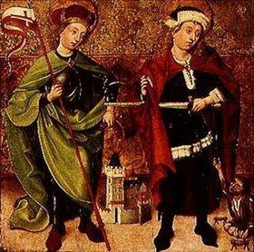 Tirolisch: Die hll. Martin und Florian