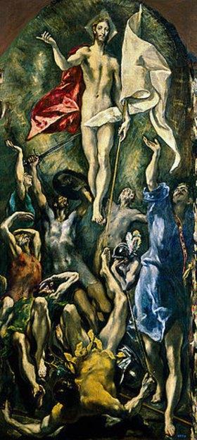 Greco El (Dominikos Theotokopoulos): Die Auferstehung Christi