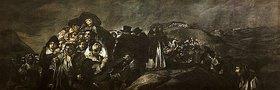 Francisco José de Goya: Die Wallfahrt des San Isidro (Aus den schwarzen Bildern der Quinta del Sordo)