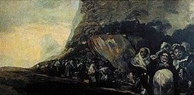 Francisco José de Goya: Prozession der Inquisition (Aus den schwarzen Bildern der Quinta del Sordo)