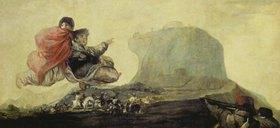 Francisco José de Goya: Hexensabbat (Aus den schwarzen Bildern der Quinta del Sordo)
