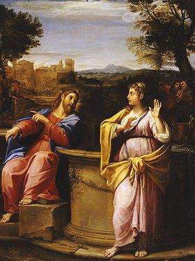 Francesco Albani: Christus und die Samariterin am Brunnen