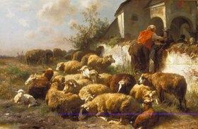 Anton Braith: Die Schafherde