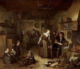 Richard Brakenburgh: In der Werkstatt des Alchimisten