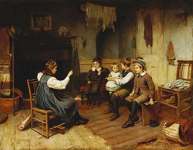 Harry Brooker: Kinder spielen Schule