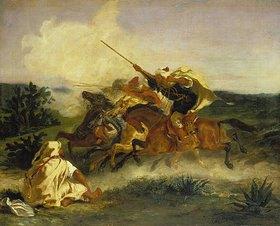 Eugene Delacroix: Fantaisie arabe