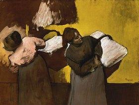 Edgar Degas: Wäscherinnen beim Austragen der Wäsche