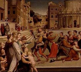 Giuliano Bugiardini: Die Entführung der Diana