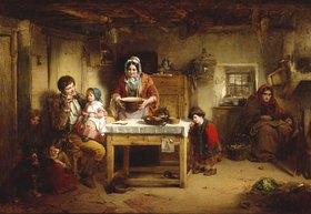 Thomas Faed: Wohlstand und Armut