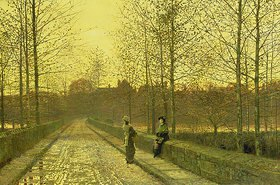 John Atkinson Grimshaw: Goldener Herbst