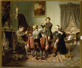 Friedrich Peter Hiddemann: Das Quartett