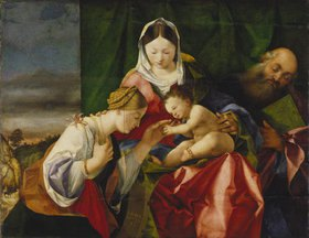 Lorenzo Lotto: Die mystische Vermählung der heiligen Katharina