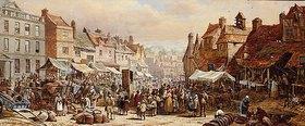 Louise Rayner: Markttag in Chippenham