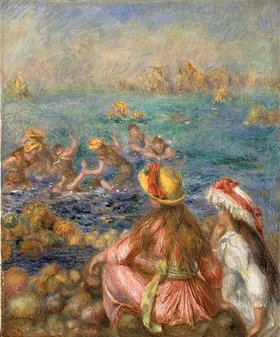 Auguste Renoir: Badende