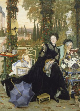 James Jacques Tissot: Die junge Witwe