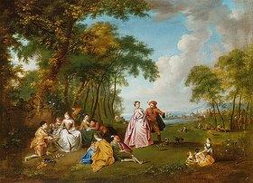 Jean Antoine Watteau: Ländliches Fest