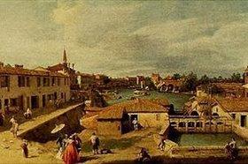 Canaletto (Giovanni Antonio Canal): Dolo (Brenta)