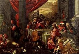 Bassano (Francesco da Ponte): Christus im Hause des Pharisäers Simon