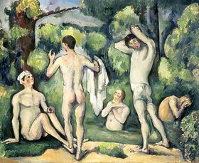 Paul Cézanne: Fünf Badende