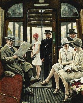 Paul Fischer: In der Straßenbahn