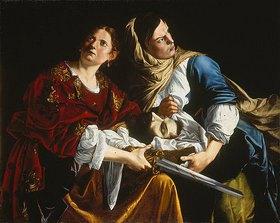 Artemisia Gentileschi: Judith mit dem Haupt des Holofernes