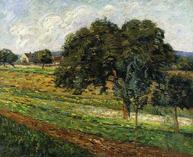 Jean-Baptiste Armand Guillaumin: Felder und Bäume bei Damiette