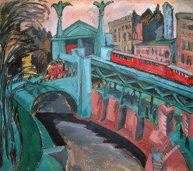 Ernst Ludwig Kirchner: Das Hallesche Tor in Berlin