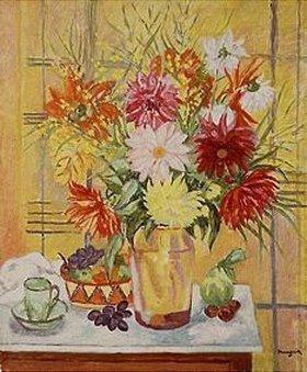 Henri Manguin: Blumenstilleben in einer Glasvase
