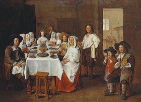 Jean Michelin: Eine Familie beim Essen