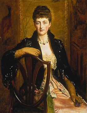 Sir John Everett Millais: Bildnis der Alice Sophia Caroline Wortley