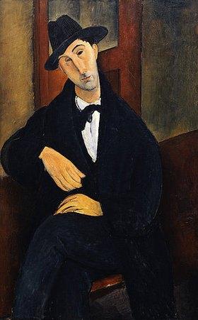 Amadeo Modigliani: Bildnis Mario Varvogli