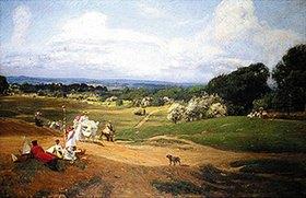 Sir David Murray: Sommernachmittag in Hampstead Heath