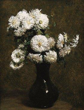 Henri de Fantin-Latour: Chrysanthemen-Strauß