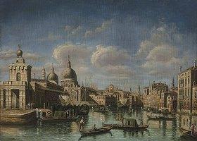 Canaletto (Giov.Antonio Canal): Am Beginn des Canale Grande in Venedig