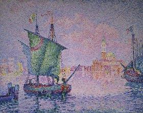 Paul Signac: Venedig, die rosa Wolke