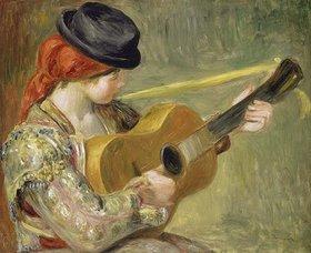 Auguste Renoir: Mädchen mit Gitarre