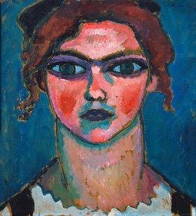 Alexej von Jawlensky: Junges Mädchen mit grünen Augen