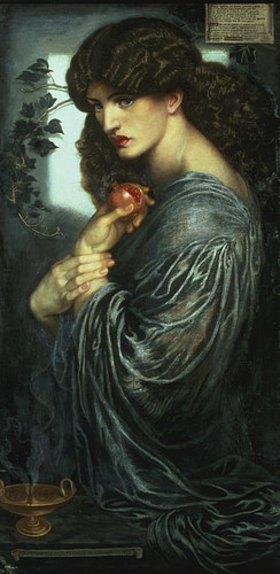 Dante Gabriel Rossetti: Proserpina