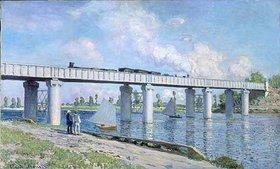 Claude Monet: Die Eisenbahnbrücke von Argenteuil