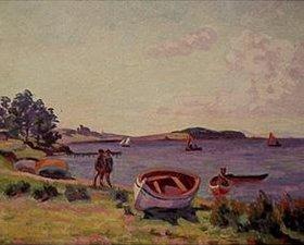 Jean-Baptiste Armand Guillaumin: Boote am Ufer des Meeres (Le Brusc)