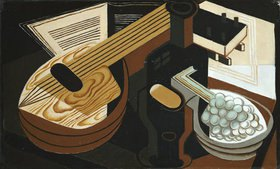 Juan Gris: Die Mandoline