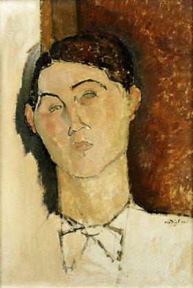 Amadeo Modigliani: Kopf eines jungen Mannes