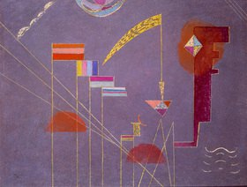 Wassily Kandinsky: Dicht. 1929.