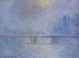 Claude Monet: Die Charing-Cross-Brücke über die Themse