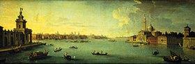 Antonio Joli: Panorama des Bacino di San Marco, Venedig