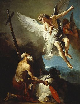 Giovanni Battista Tiepolo: Die Vision des hl. Hieronymus