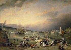 Richard Brydges Beechey: Der Hafen von Plymouth