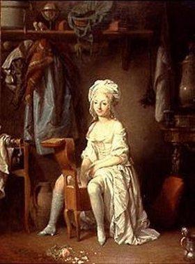 Louis-Léopold Boilly: Bei der Morgentoilette
